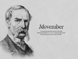 Movember : Le mois de la Moustache