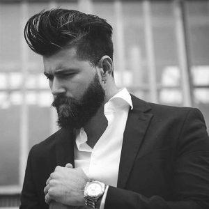 Coupe barbe élégante