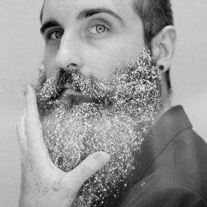 Barbe-à-paillettes