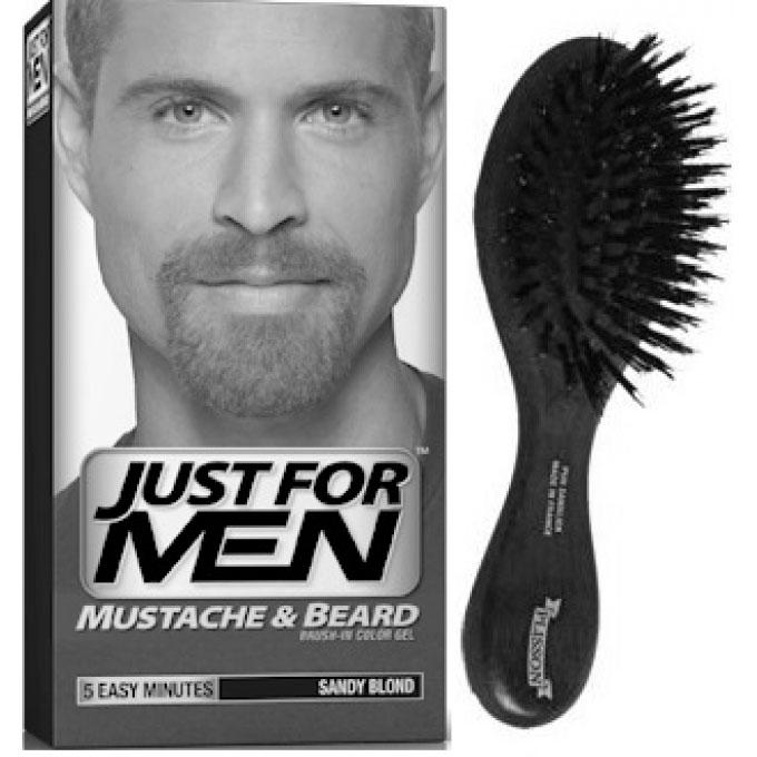 la raison principale pour laquelle les hommes se teignent la barbe aujourdhui cest simplement pour uniformiser la teinte de celle ci - Coloration Barbe