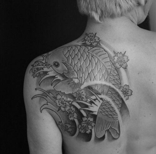 tatouage-japonais-carpe-koi