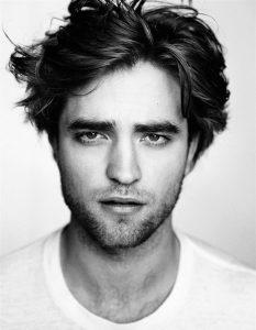 Barbe de 3 jours comme Robert Pattinson