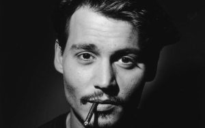 La moustache de Johnny Depp