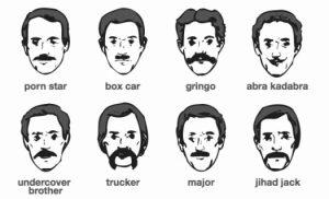 Movember - À chacun son style de moustache