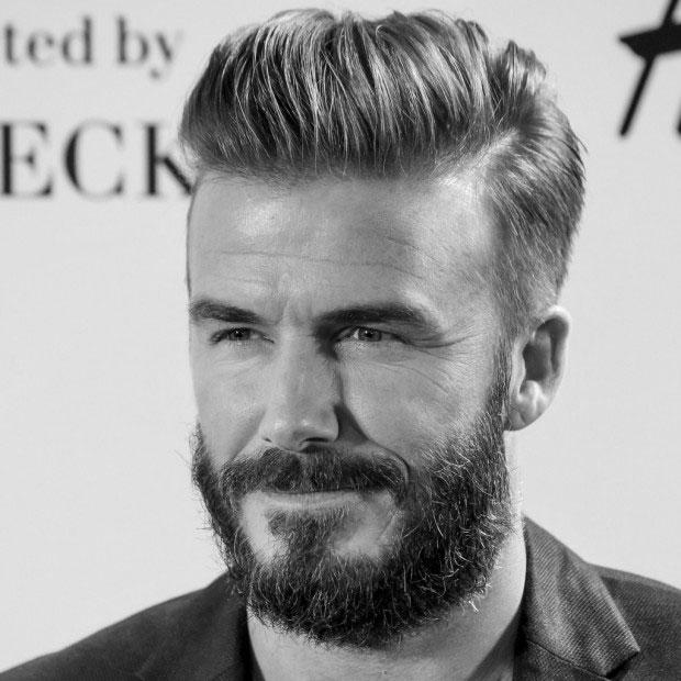 Barbe de 10 Jours , David Beckham