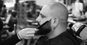 Technique de coupe barbe