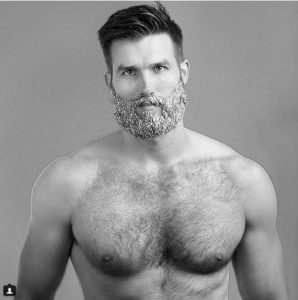 Barbe-à-paillette-homme