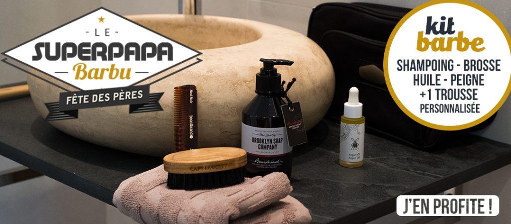 kit entretien barbe fete des peres