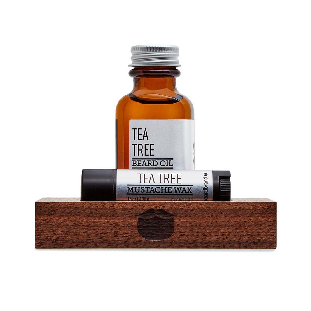 kit entretien barbe beardbrand tea tree la barbe a papa. Black Bedroom Furniture Sets. Home Design Ideas