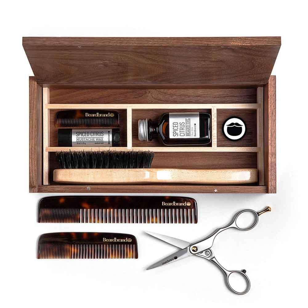 Kit entretien barbe Beardbrand Beardsman Kit